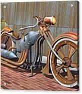 Steam Chopper Acrylic Print