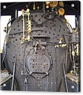 Steam Engine 444 Fire Box And The Controls Acrylic Print