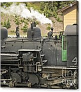 Steam Engine At Cumbres Pass Acrylic Print