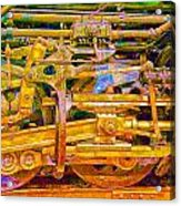 Steam Engine Linkage 3 Acrylic Print
