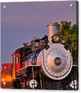 Steam Engine Number 509 Acrylic Print
