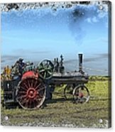 Steam Farming Acrylic Print