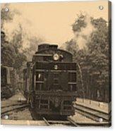 Steam Locomotive Acrylic Print