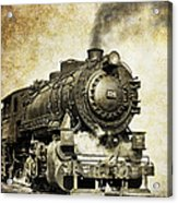 Steam Locomotive No. 334 Acrylic Print