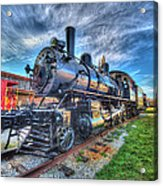 Steam Locomotive No 6 Norfolk And Western  Acrylic Print