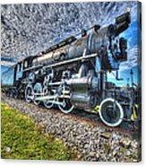 Steam Locomotive No 606 Acrylic Print