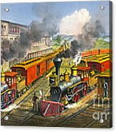 Steam Locomotives 1874 Acrylic Print