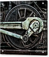 Steam Power Acrylic Print by Olivier Le Queinec