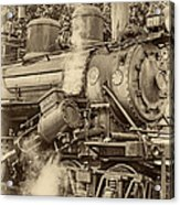 Steam Power Sepia Vignette Acrylic Print