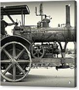 Steam Power Tractor Acrylic Print