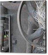 Steam Punk Lawnmower Acrylic Print