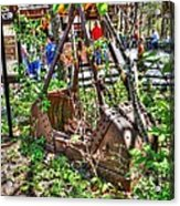 Steam Shovel Bucket Acrylic Print