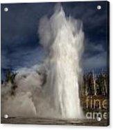 Steam Tower Acrylic Print