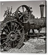 Steam Tractor - Molson Ghost Town Acrylic Print
