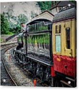 Steam Train 3802 Acrylic Print