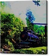 Steam Train Of Sevierville Acrylic Print