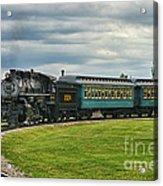 Steam Train Tr3627-13 Acrylic Print