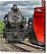 Steam Train Tr3637-13 Acrylic Print