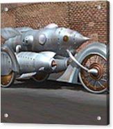 Steam Turbine Cycle Acrylic Print