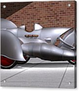 Steam Turbine Trike  Acrylic Print