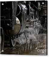 Steam Wheels Acrylic Print