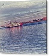Steamboat Cruise Acrylic Print