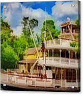 Steamboat  Hdr Acrylic Print