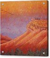 Steamboat Mountain at Sunrise Acrylic Print