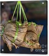 Steamed Food Parcels Acrylic Print