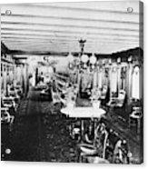 Steamer Interior, C1867 Acrylic Print