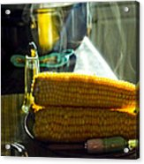 Steaming Corn Acrylic Print