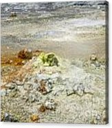 Steaming Sulphur Acrylic Print