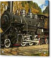 Steaming Through The Fall Acrylic Print