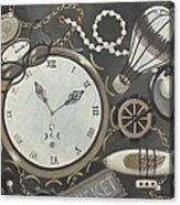 Steampunk Adventure Acrylic Print