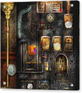 Steampunk - All That For A Cup Of Coffee Acrylic Print