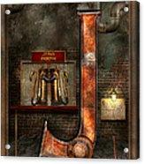Steampunk - Alphabet - J Is For Jet Pack Acrylic Print