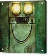 Steampunk - Be Happy Acrylic Print