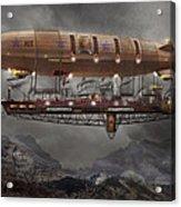 Steampunk - Blimp - Airship Maximus  Acrylic Print