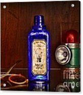 Steampunk Bottled Light Acrylic Print