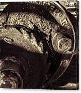 Steampunk Cable Car Brake Acrylic Print