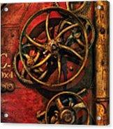 Steampunk - Clockwork Acrylic Print