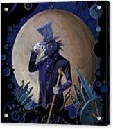 Steampunk Crownman Acrylic Print