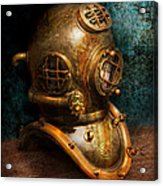 Steampunk - Diving - The Diving Helmet Acrylic Print