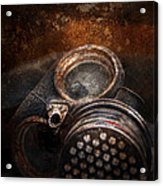 Steampunk - Doomsday  Acrylic Print by Mike Savad