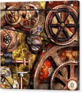 Steampunk - Gears - Inner Workings Acrylic Print
