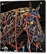 Steampunk Horse Acrylic Print