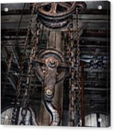 Steampunk - Industrial Strength Acrylic Print by Mike Savad