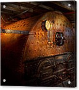 Steampunk - Plumbing - The Home Of A Stoker  Acrylic Print by Mike Savad