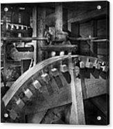 Steampunk - Runs Like Clockwork Acrylic Print