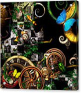 Steampunk - Surreal - Mind Games Acrylic Print